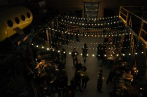 Fundraiser event space